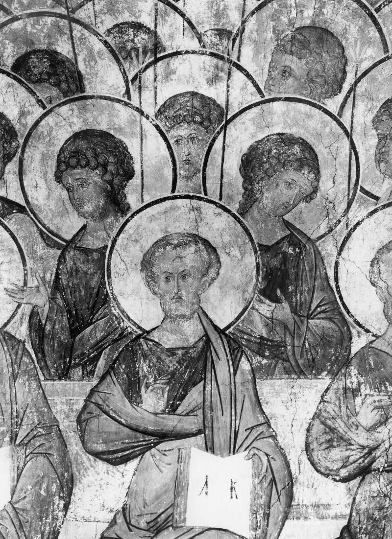 Апостол Лука и ангелы