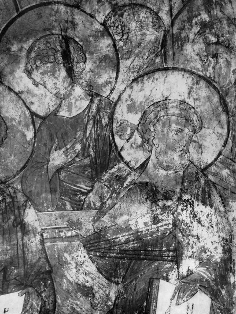 Апостол Андрей и ангелы