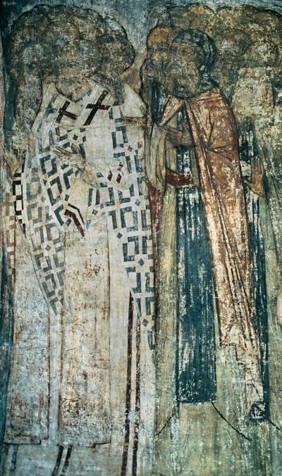 Лик святителей и преподобных