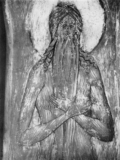 Полуфигура Макария Египетского