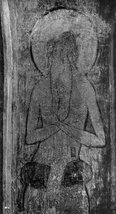 Полуфигура отшельника Онуфрия