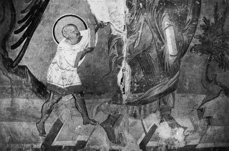 Ангел ведет младенца Иоанна в пустыню