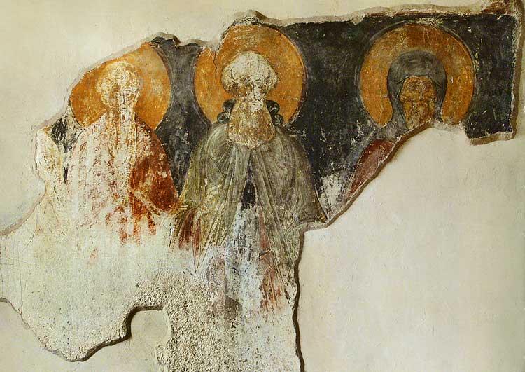 Преподобные Онуфрий Великий, Павел Фивейский и Антоний Великий