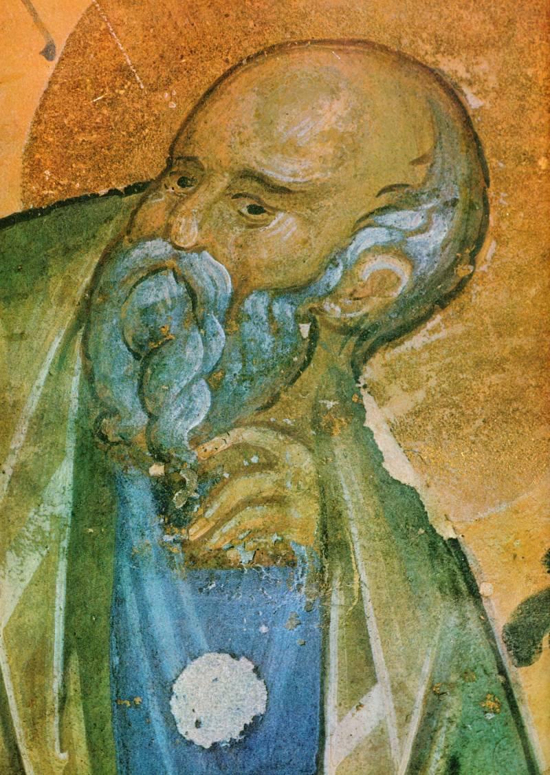 Лик евангелиста Иоанна
