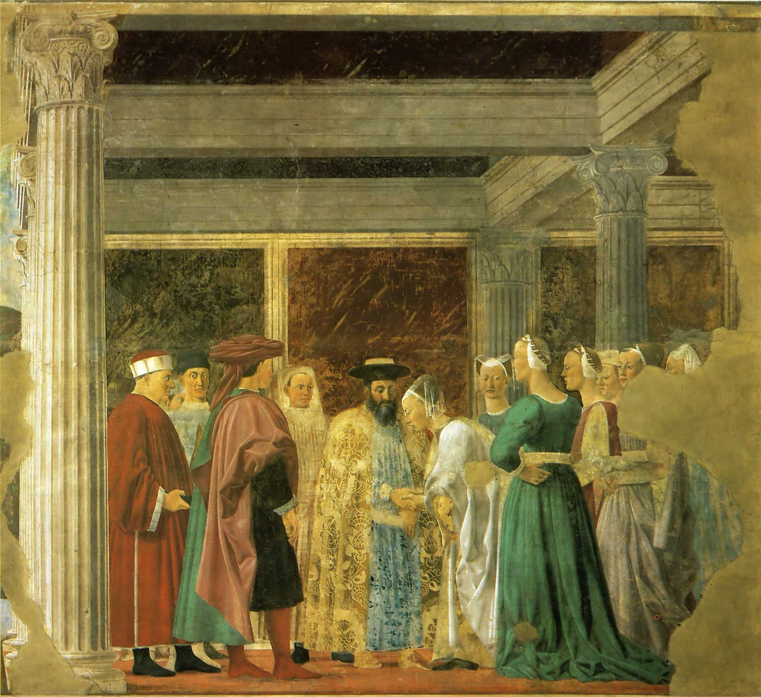 an analysis of francesco del cossas oil painted panel called meeting of solomon and the queen sheba Get the an analysis of francesco del cossas oil painted panel called meeting of analysis of language events a study of articles about crisis in iraq.