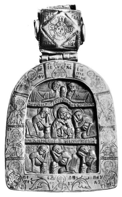 Богоматерь Умиление и семь спящих отроков эфесских