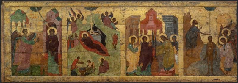 Благовещение, Рождество Христово, Сретение, Богоявление