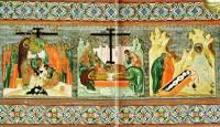 Снятие со креста, Положение во гроб, Жены мироносицы у гроба Господня