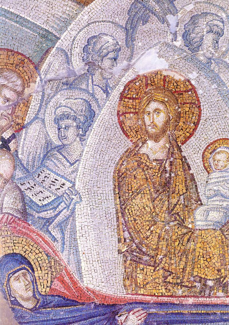 Христос с душой Богоматери