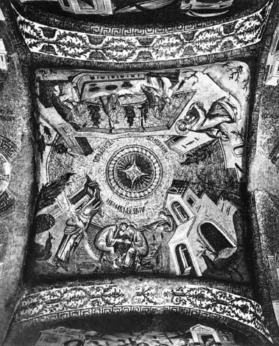 Мозаики цикла «История детства Богоматери»