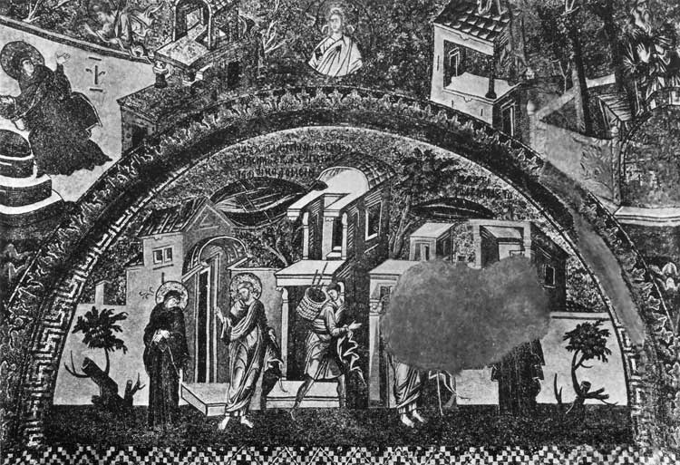 Прощание Иосифа с Марией