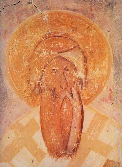 Лик Анфима Никомидийского