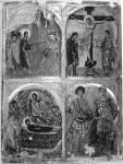 Ведение на крест. Распятие. Успение Богоматери. Святые Георгий и Димитрий