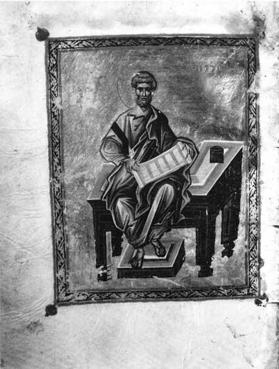 Апостол Петр - Новый Завет с Псалтирью [Син.греч.407 (Влад.25)], л. 260 об.