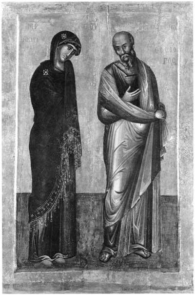 Богоматерь и Иоанн Богослов