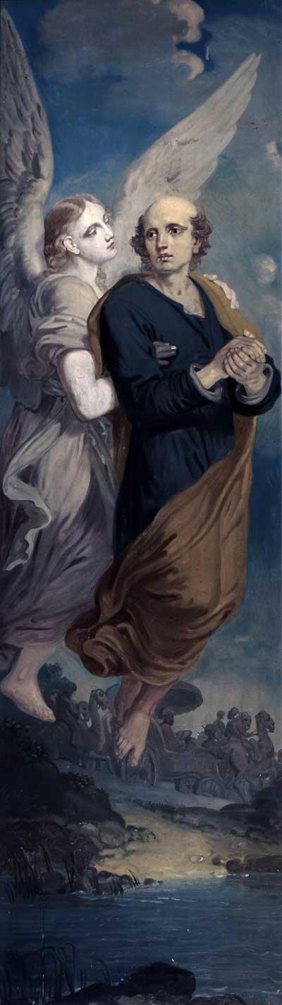 Апостол Филипп и ангел
