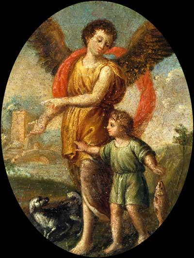 Товий с ангелом