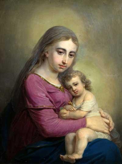 Богоматерь с Младенцем