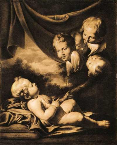 Мальчик с ангелами