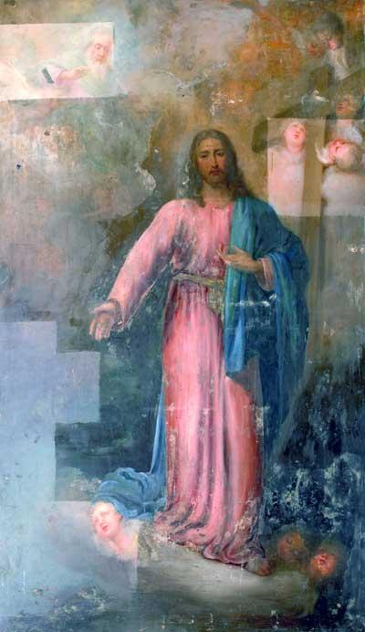 Христос в окружении ангелов