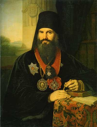 Портрет архиепископа Михаила (М.М.Десницкого)