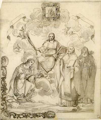 Христос с избранными святыми