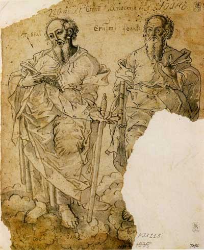 Святые апостолы Павел и Иоанн