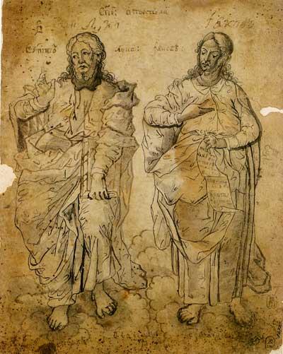 Святые апостолы Лука и Иаков