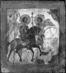 Флор и Лавр на конях