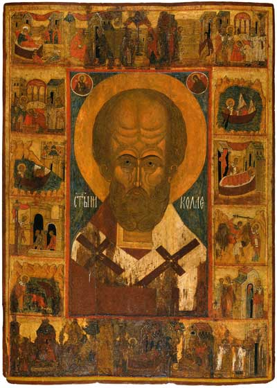 St Nicholas with Scenes from His Life