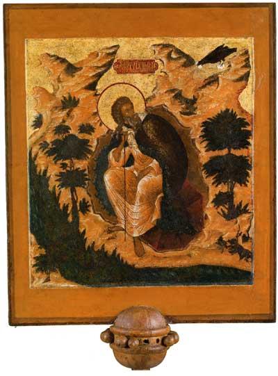 Пророк Илия в пустыне