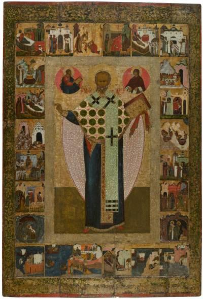 Святой Николай Зарайский, с житием