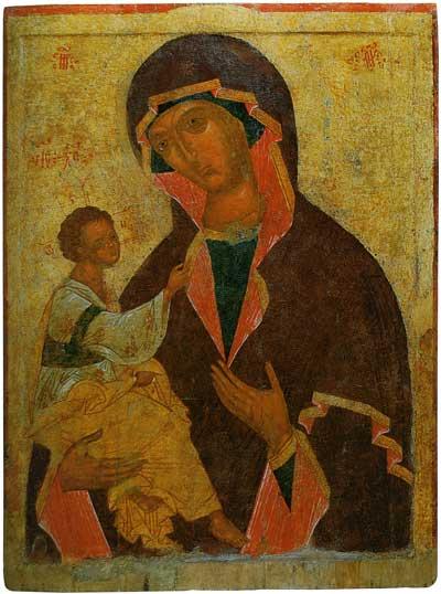 Богоматерь с Младенцем (в типе Иерусалимской)