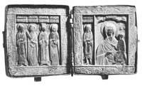 Пророк Иеремия, Параскева, Екатерина и Варвара; Богоматерь Одигитрия и Иоанн Златоуст