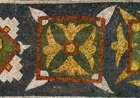 Мозаичный орнамент в центральной апсиде