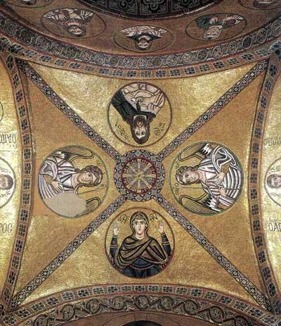 Богоматерь, Иоанн Креститель, архангелы Михаил и Гавриил
