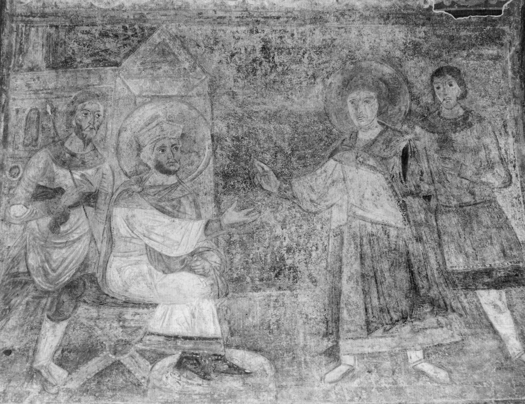 Допрос святого Георгия императором Диоклетианом