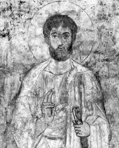 рисунок фрески софии киевской именинник провел