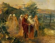 Возвращение с погребения Христа