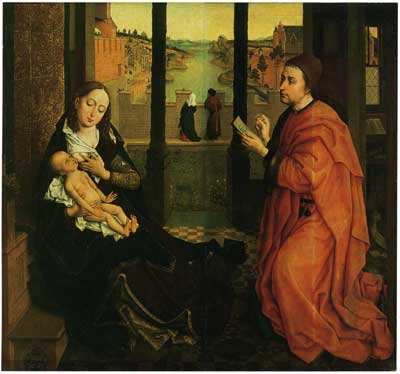 Евангелист Лука, рисующий Мадонну