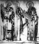 Василий Великий и два святителя