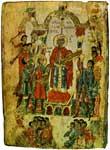 Пророк Давид с музыкантами