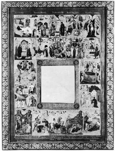 Праздники и сцены из житий Николая Чудотворца, Александра Свирского, великомученика Никиты