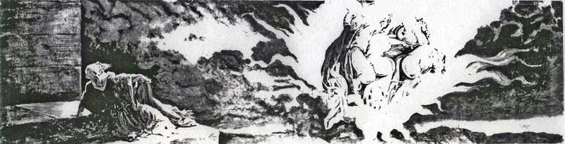 Вознесение Илии Пророка на небо