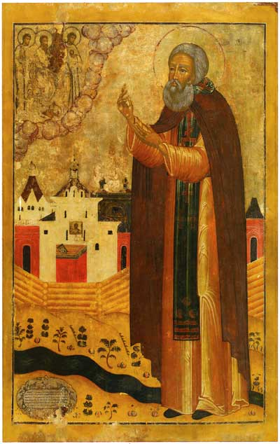 Сергий Нуромский с обителью