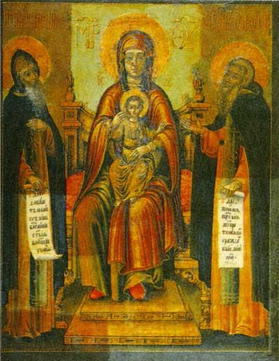 Печерская икона Богоматери