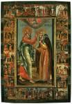 Явление Иоанна Богослова Авраамию Ростовскому, с житием прп. Авраамия