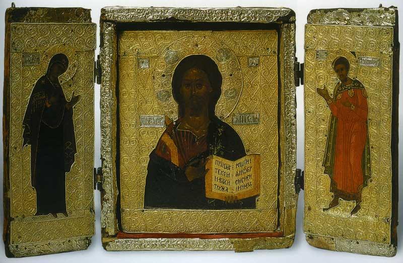 Господь Вседержитель, Богоматерь, Феодор Тирон