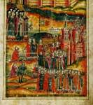 Перенесение мощей святого Игнатия в Спасо-Прилуцкий монастырь