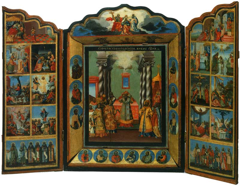 Обновление храма Господня. Избранные святые и праздники